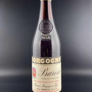 Borgogno Barolo 1958 0,75l