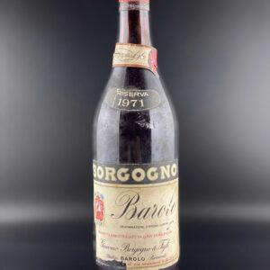 Borgogno Barolo 1971 0,75l