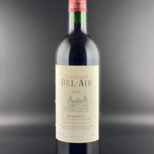 Château Bel Air 2001 0,75l