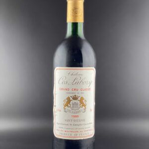 Chateau Cos Labory 1988 0,75l