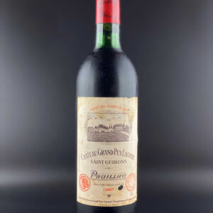 Chateau Grand Puy Lacoste 1980 0,75l