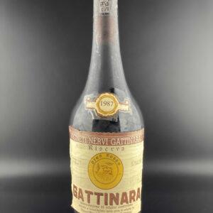 Nervi Gattinara 1987 0,75l