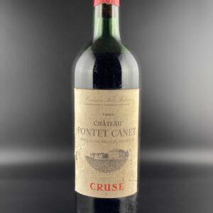 Château Pontet-Canet 1962er 0,75l