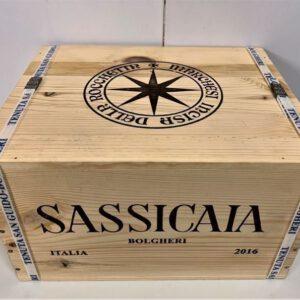 Sassicaia 2016 0,75l  6er OHK (OWC) nur noch auf Anfrage