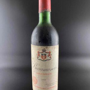 Beaumanoir St. Emilion 1970er 0,75l
